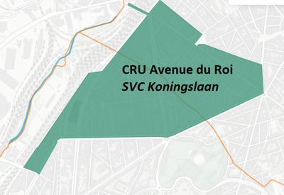 CRU Avenue du Roi périmètre
