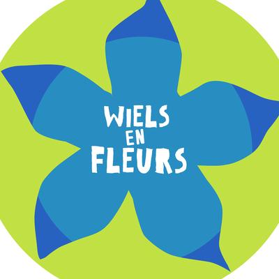 logo Wiels en fleurs