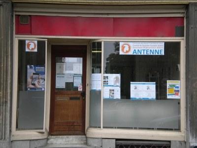 Antenne-vitrine