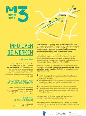 info travaux Jupiter TB octobre 2020 NL
