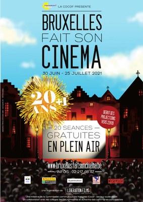 Affiche Bxl Cinema 2021