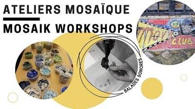 Atelier mosaïque entraide et culture