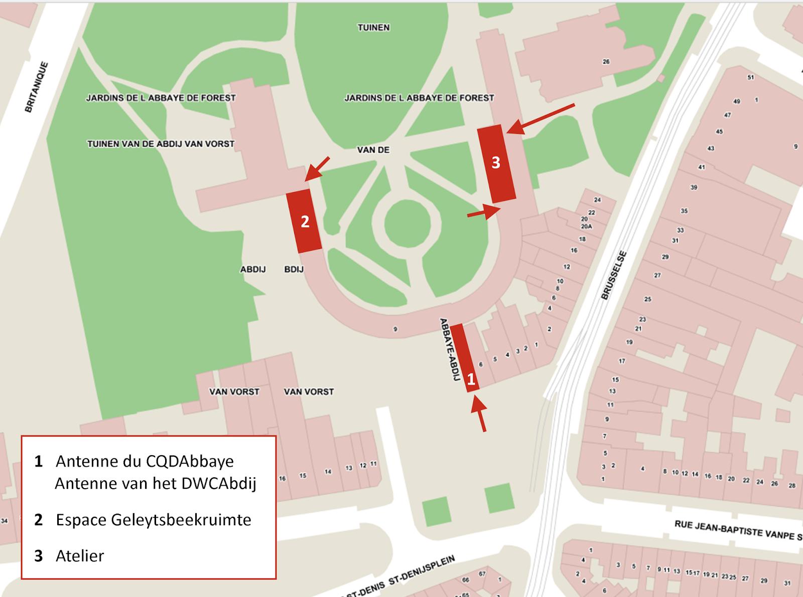 Abbaye_Plan d'accès
