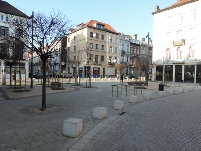 Place Orban rénovée