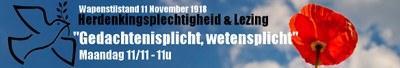Commémoration 11 novembre 2019 NL