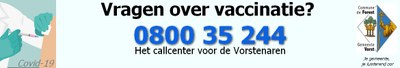 Call center Vaccination Forest NL