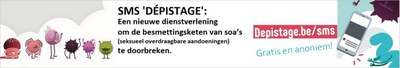 sms depistage NL